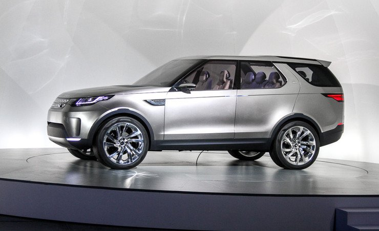 Land Rover ������� � �������� ������ Discovery Sport