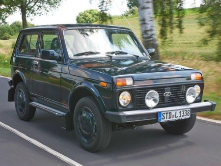 Niva стала самой медленной среди новых машин вГермании