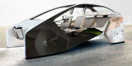 БМВ показала свое видение автомобильного интерьера будущего