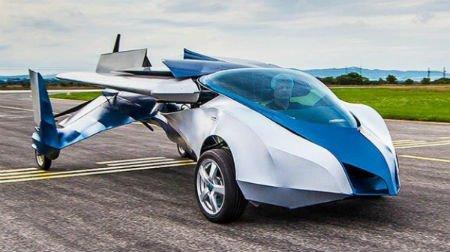 В России построят свой летающий автомобиль