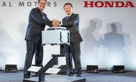 GM и Хонда будут выпускать недорогие топливные субъекты для водородных авто