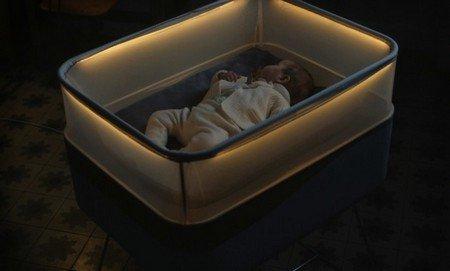 Форд разработал детскую кровать, которая имитирует поездку наавтомобиле