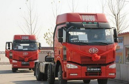 FAW планирует начать выпуск беспилотных грузовиков в2018 году