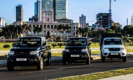 УАЗ впервом полугодии удвоил экспорт авто