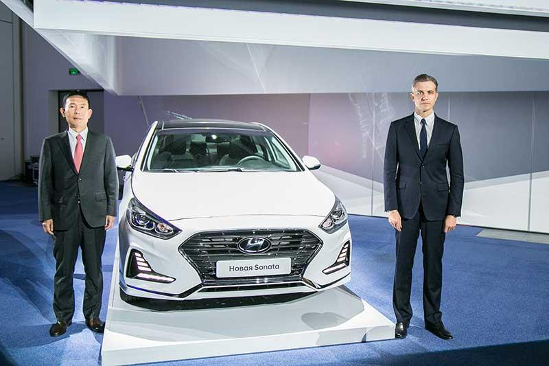 В Российской Федерации возобновили продажи свежей Хендай Sonata