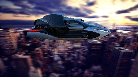 Американское подразделение фирмы  Airbus показало прототип беспилотного аэротакси