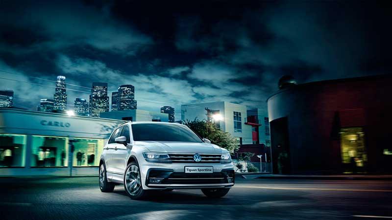 Русский VW Tiguan предложен втоп-варианте Sportline