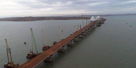 Керченский мост «присоединит» Крым доконца текущего года