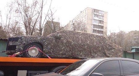 Впробке сфотографировали новый лимузин В.Путина