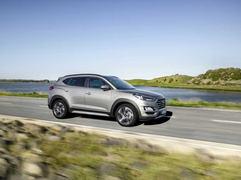 Новый гибридный Hyundai Tucson с революционной дизель-электрической силовой установкой