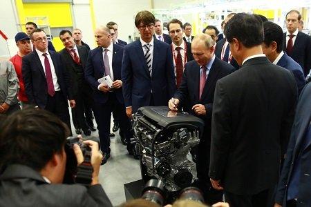 Mazda во Владивостоке открыла завод по производству двигателей