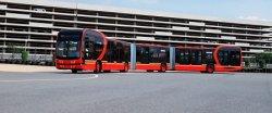 Китайцы показали самый длинный электробус