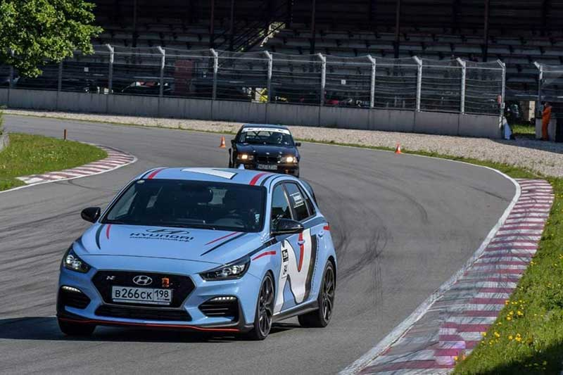 Hyundai i30 N вошел в четверку на гонках Baltic Time Attack Series в Латвии