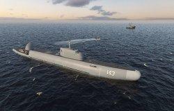 В России изобрели ныряющий патрульный корабль