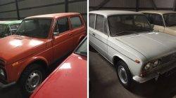 В России продается коллекция автомобилей Lada за 16 млн рублей