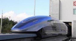 В Китае показали скоростной поезд с разгоном до 600 км/ч в час (Видео)