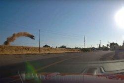 Видеорегистратор снял летающую Toyota Camry (видео)