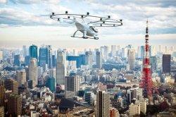 Летающее такси появятся в Японии через 2 года